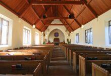 Image of empty church
