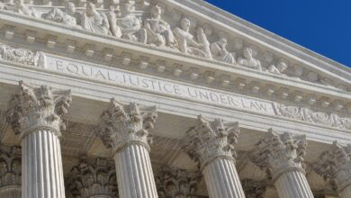 Image of U.S. Supreme Court entrance