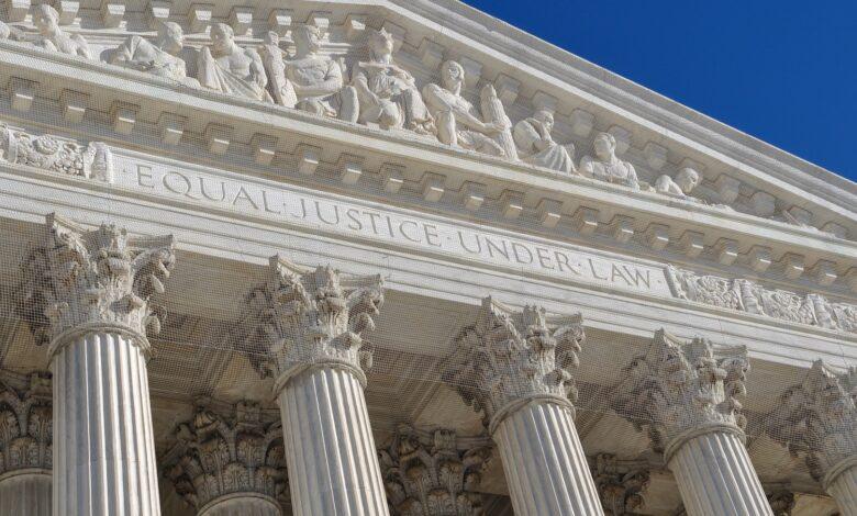 Image of U.S. Supreme Court entrance