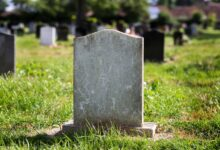 Picture of a blank tombstone