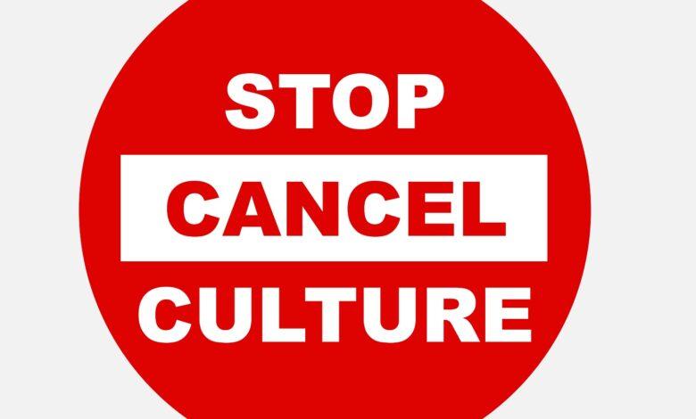 Stop cancel culture icon