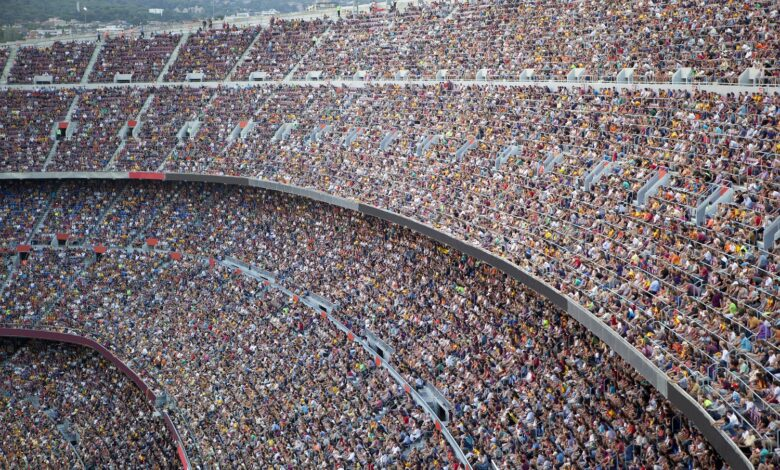 Image of a stadium full of people