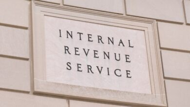 Image of the IRS building