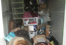 Image of a storage unit acquired by Shane Jones